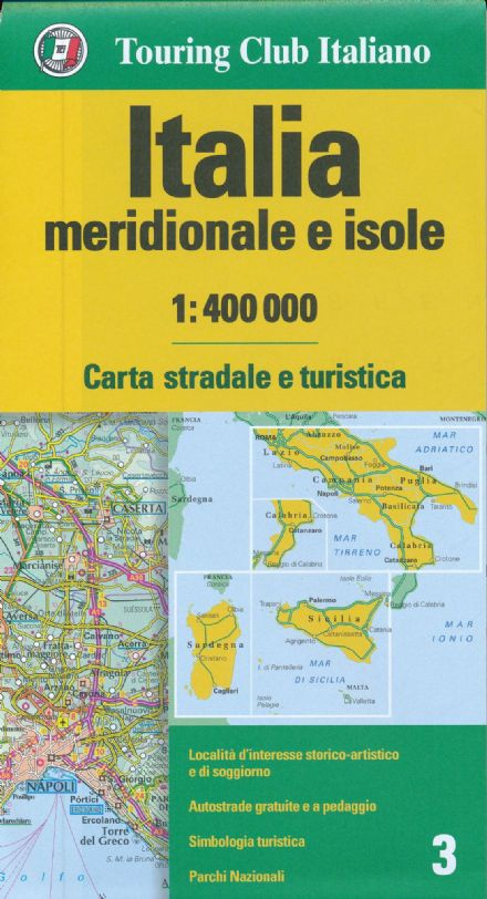 Southern Italy TCI 1:400,000